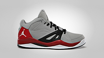 Jordan Ace 23 Matte Silver White Gym Red Black