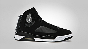 Jordan Flight Luminary Black White