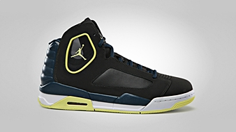 Jordan Flight Luminary Night Stadium Electric Yellow Squadron Blue White