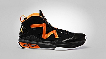 Jordan Melo M9 Black Bright Citrus White