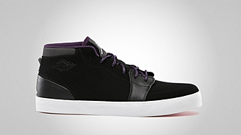 AJ V.1 Chukka Black White Night Stadium Grand Purple Fuchsia