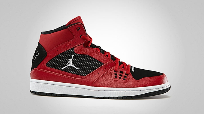 Jordan 1 Flight Gym Red White Black