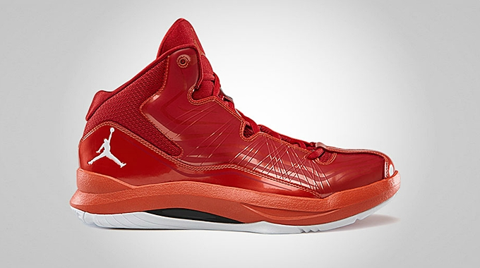 Jordan Aero Mania Gym Red White Bright Crimson