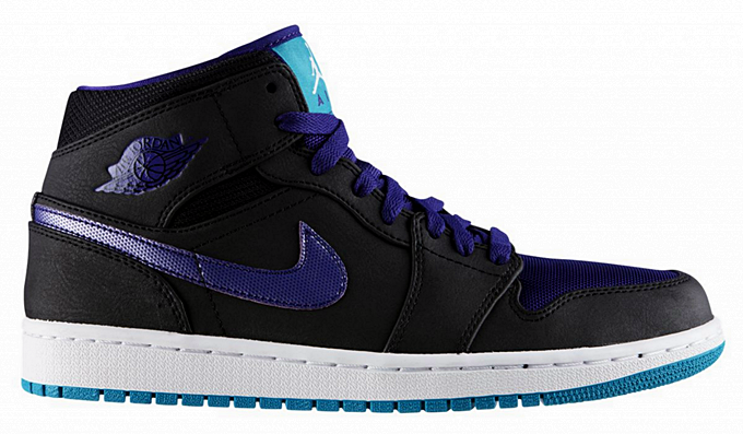 Air Jordan 1 Mid Grape