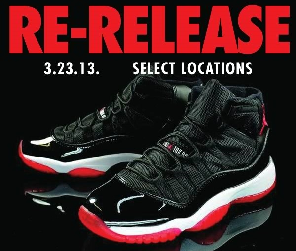 "Air Jordan XI ""Bred"" Restocked"