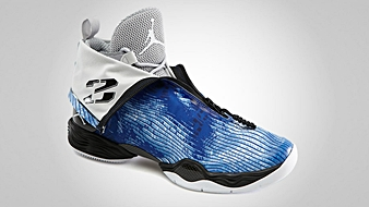 Air Jordan XX8 Blue Camo Unzipped