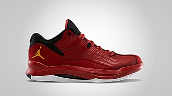 Jordan Aero Mania Low Gym Red Del Sol Black White