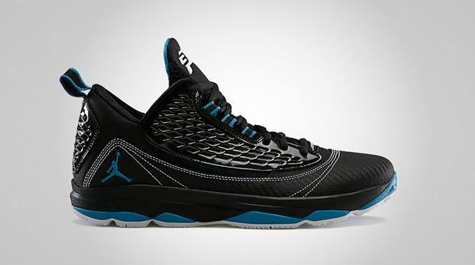 Jordan CP3.VI AE Black/Neo Turquoise – White Preview