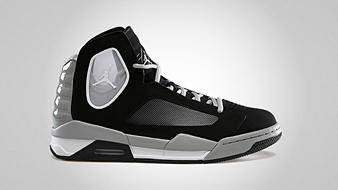 Jordan Flight Luminary Black Matte Silver White