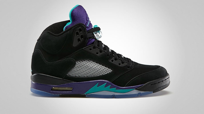 New Edition Of Air Jordan 5 Retro Released