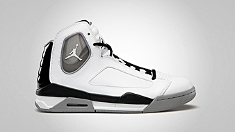 Jordan Flight Luminary White Black Matte Silver