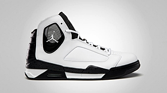 Jordan Flight Luminary White Black Night Stadium