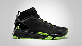 Jordan Trunner Dominate Pro Black Electric Green