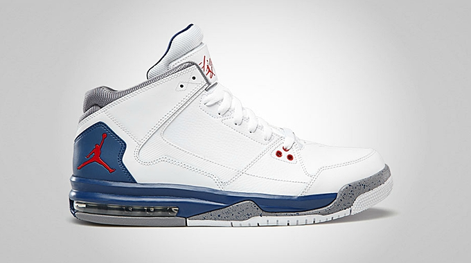 Jordan Flight Origin White Fire Red True Blue Cement Grey