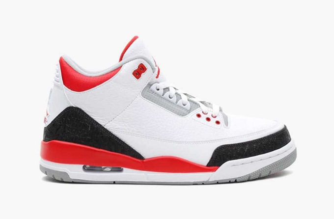 Air Jordan 3 Retro Fire Red Rocking The Sneaker Market