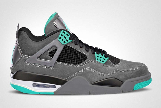 "Release Reminder: Air Jordan 4 Retro ""Green Glow"""