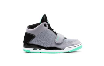 Jordan FLTCLB 90 Cement Grey Black Green Glow
