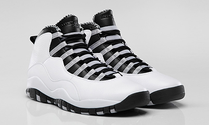 "Air Jordan 10 Retro ""Steel"" Arriving At Retailers"