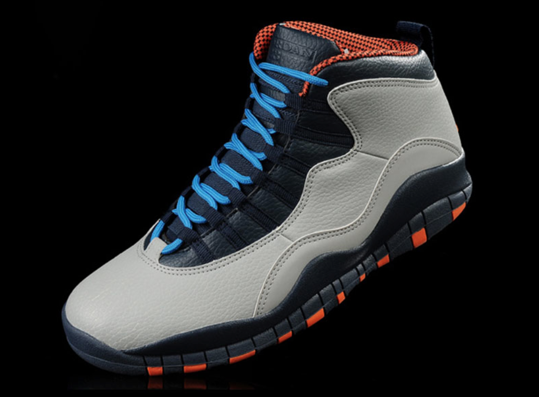 "Air Jordan 10 Retro ""Bobcats"" Available Today"
