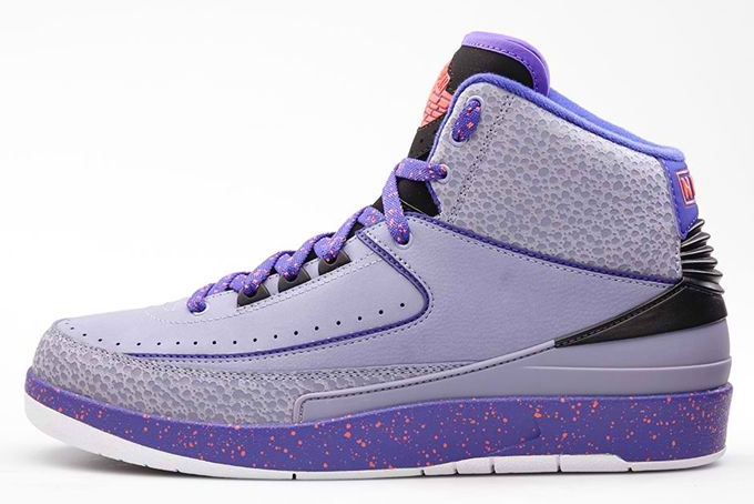 "Air Jordan 2 Retro ""Iron Purple"" Making Noise"