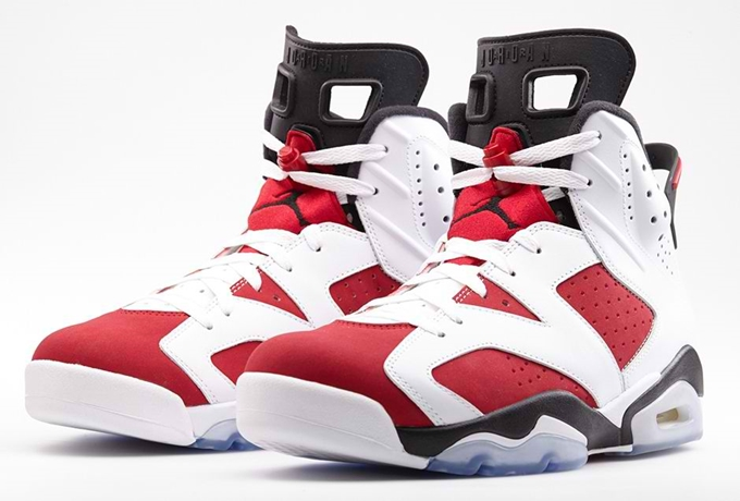"Air Jordan 6 Retro ""Carmine"" Hit Shelves"