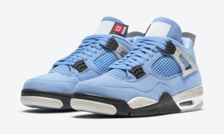 Air Jordan 4 University Blue UNC CT8527-400 Release Date