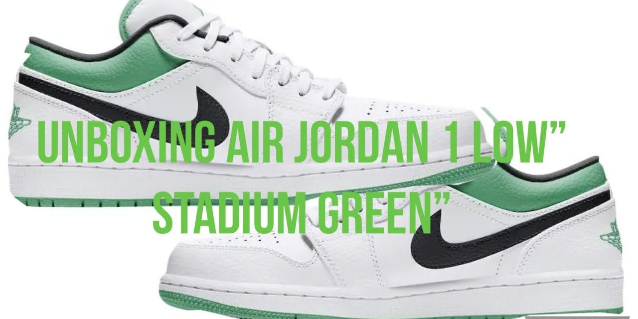 """Unboxing Air Jordan 1 Low """"White Lucky"""""""