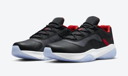 Air Jordan 11 CMFT Low Black Red White CW0784-006 Release