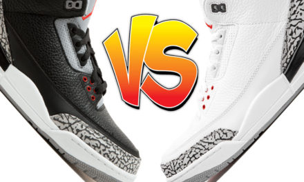 Air Jordan 3 Black Cement vs Air Jordan 3 White Cement