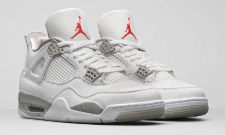 Air Jordan 4 White Oreo Tech Grey CT8527-100 Release Date