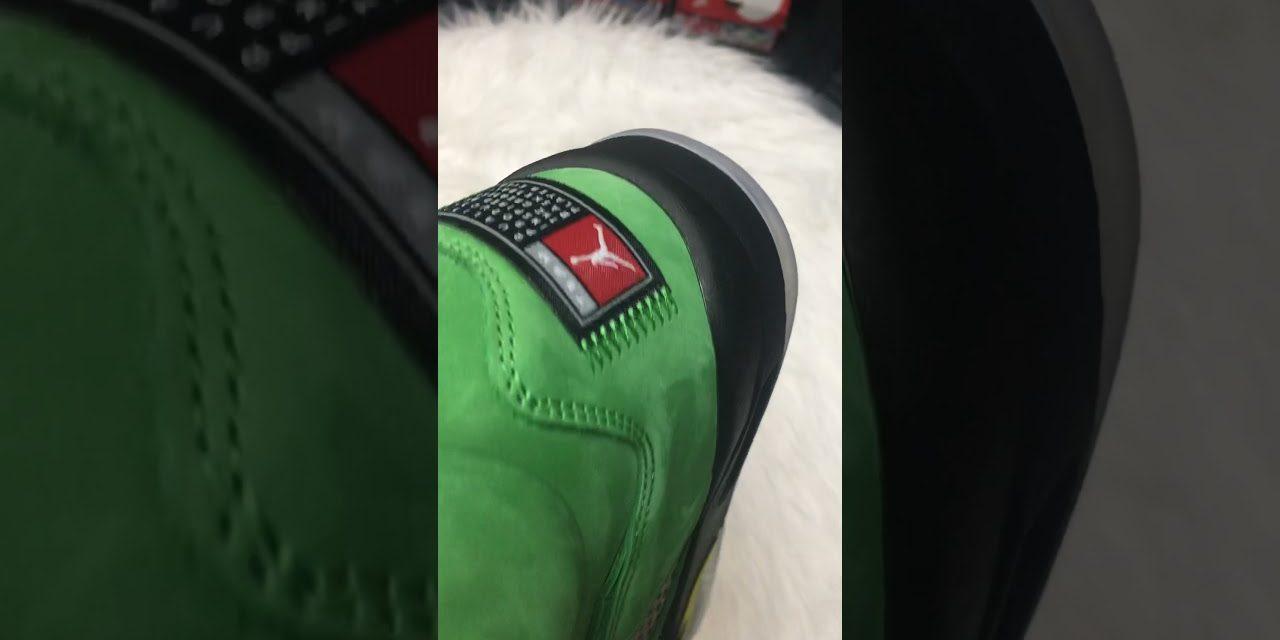 Unboxing Review Nike Air Jordan 5 Oregon CK6631-307 from