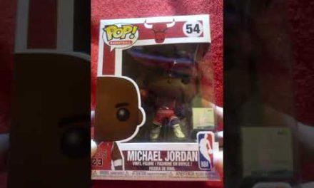 Unboxing Michael Jordan Funko Pop! #Shorts