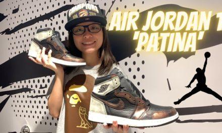 Unboxing Air Jordan 1 'Patina'