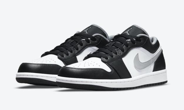 Air Jordan 1 Low Black Medium Grey 553558-040 Release Date