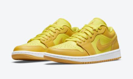 Air Jordan 1 Low Yellow Gold DC0774-700 Release Date