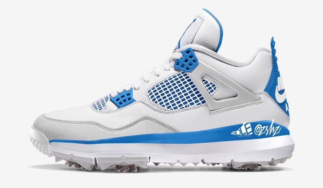 Air Jordan 4 Golf Military Blue CU9981-101 Release Date