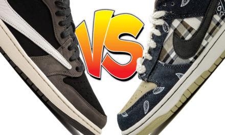 Travis Scott Air Jordan 1 Low vs Travis Scott Nike SB Dunk