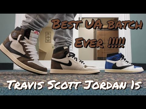 Unboxing the BEST  UA TRAVIS SCOTT JORDAN 1 BATCH OUT !!! –