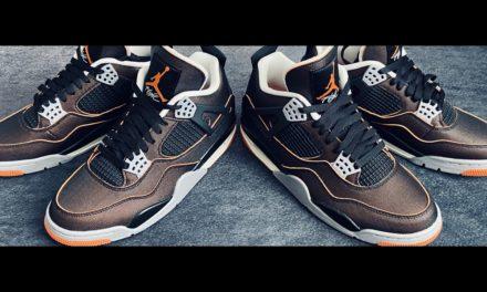 Nike WMNS AIR JORDAN 4 RETRO 'STARFISH' Unboxing