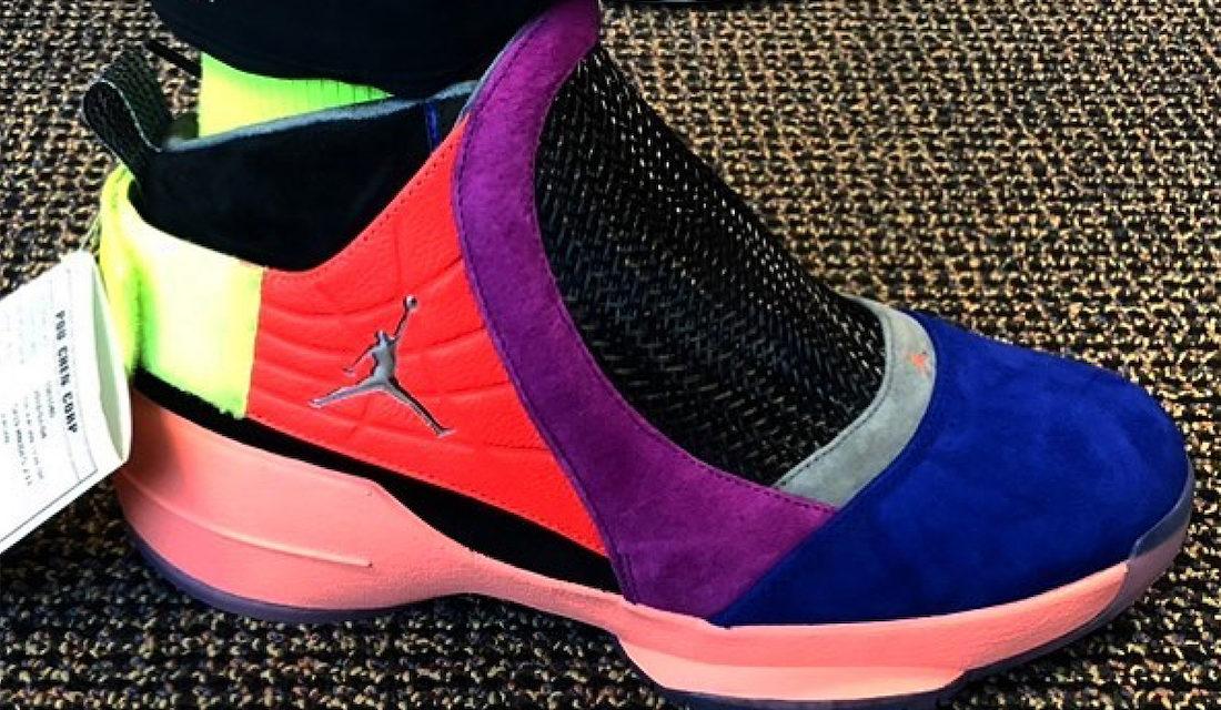 Air Jordan 19 Multi-Color Sample