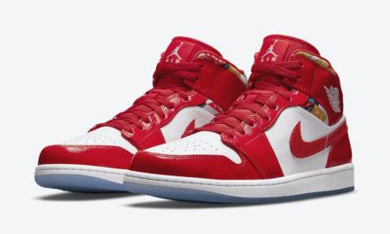 Air Jordan 1 Mid Red Patent DC7294-600 Release Date