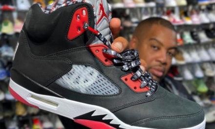 Air Jordan 5 Quai 54 Black Friends & Family 2021 Release