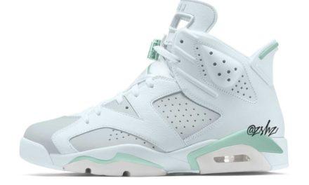Air Jordan 6 Tiffany Blue Mint Foam WMNS Release Date