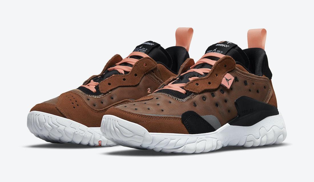 Jordan Delta 2 Brown Pink CV8121-200 Release Date