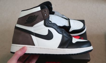 """Air Jordan 1 Retro High OG """"Mocha"""" Sneaker"""
