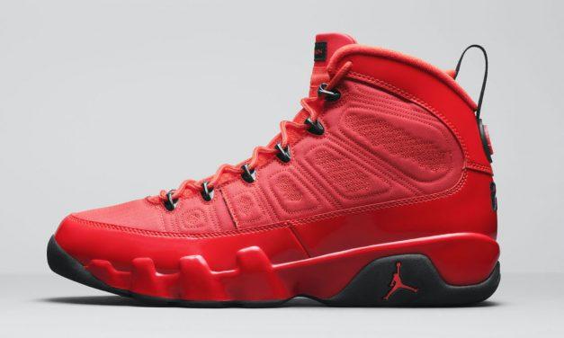 Air Jordan 9 Chile Red CT8019-600 Release Date