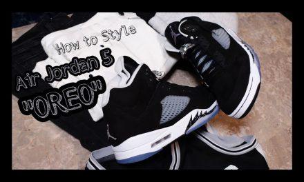 How to Style | Air Jordan 5 Retro | MOONLIGHT | OREO| ON